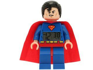 LEGO® DC Comics™ Super Heroes Superman™ Minifigure Clock