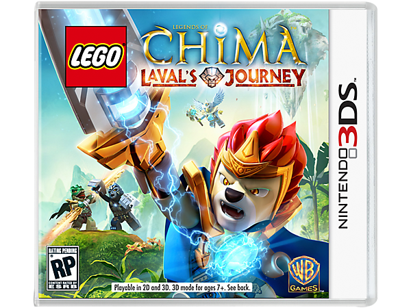 Go deep into the Land of Chima to build and battle with more than 60 characters in Laval's Journey, a LEGO® Nintendo 3DS Video Game!
