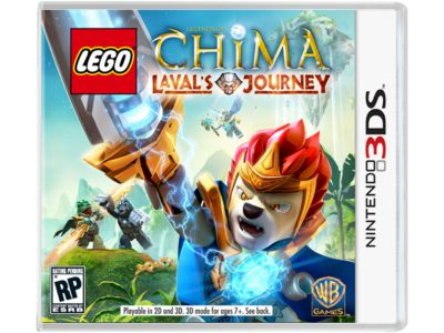 LEGO® Legends of Chima™: Laval's Journey Nintendo 3DS Video Game ...