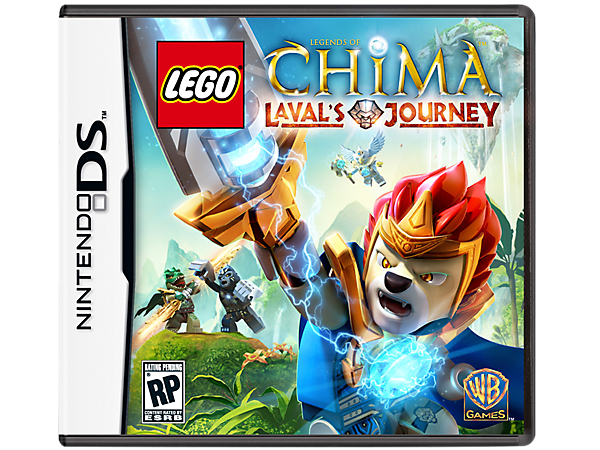 Go deep into the Land of Chima™ to build and battle with more than 60 characters in Laval's Journey, a LEGO® Nintendo DS Video Game!
