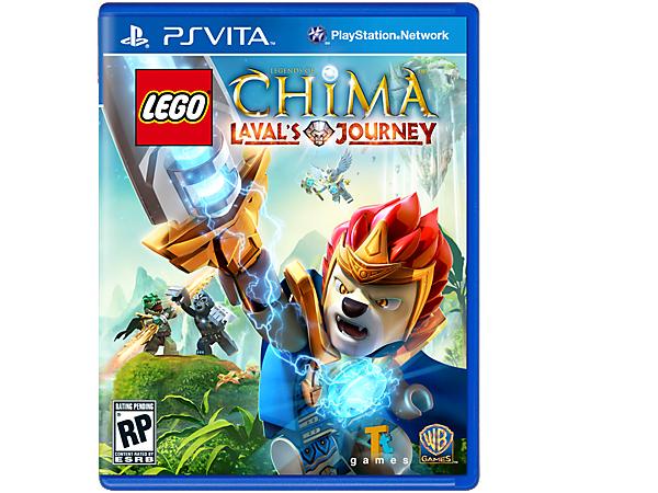 Tauchen Sie ein in die Welt von Chima und erleben Sie mit mehr als 60 Charakteren fantastische Abenteuer in Laval's Journey, einem LEGO® PS Vita Videospiel!