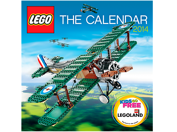 Get inspired to create with The LEGO® Calendar, a 12-month masterpiece of fun facts and famous building sets in full-color photos!