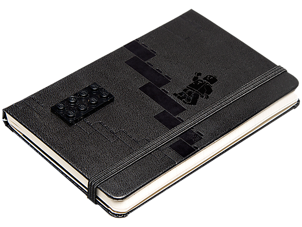 Plan every day the LEGO® way with a pocket-sized LEGO Moleskine 2014 Weekly Planner featuring a baseplate and construction grids!