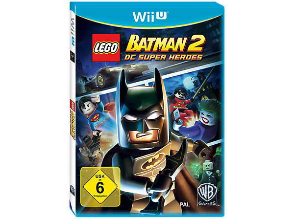 Build and battle famous villains in Gotham City with Batman™, Robin and 48 more DC Universe characters in this a LEGO® Wii U™ video game!