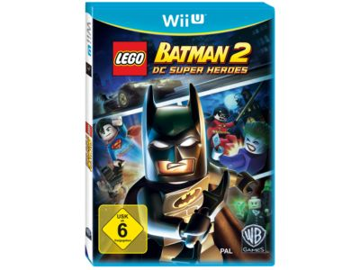 LEGO® Batman™: DC Universe Super Heroes Wii U™ Video Game - 5002774 ...