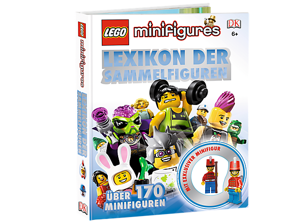 Collect the fun facts and essential info for the LEGO® Minifigures of series 1-11 with full-color photos and an exclusive minifigure!