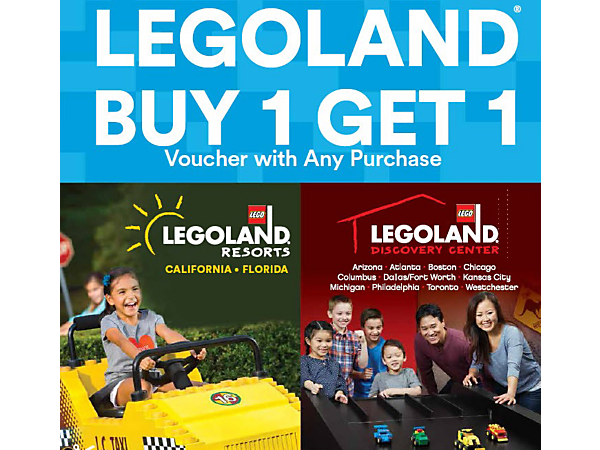 Popular LEGOLAND Holidays deal vouchers: Plan your Winter Family Escape at LEGOLAND® Resort Hotel from £99 per family! Pick your adventure with the swashbuckling Pirate themed room, reign over your very own Kingdom themed room or explore the Adventure themed room.