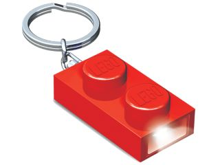 LEGO® 1x2 Brick Key Light (Red)