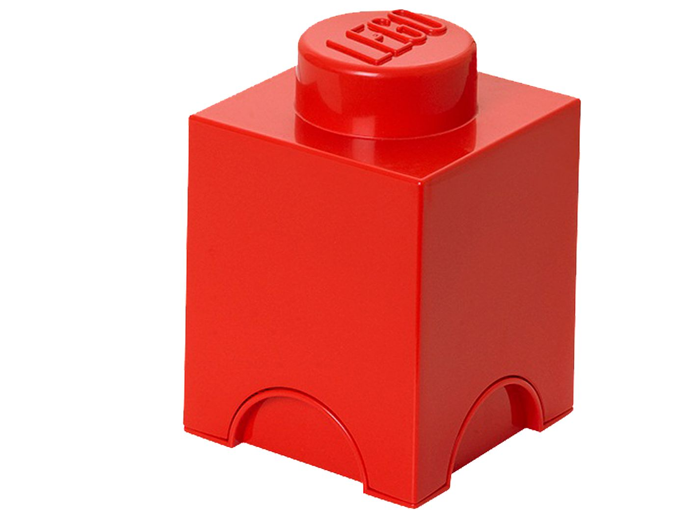 LEGO® 1-stud Red Storage Brick