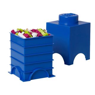 LEGO® 1-stud Blue Storage Brick
