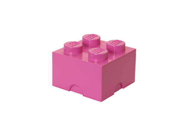 Build LEGO® décor, storage and more with a life-sized LEGO Storage Brick featuring real LEGO studs to connect your life-sized creations.