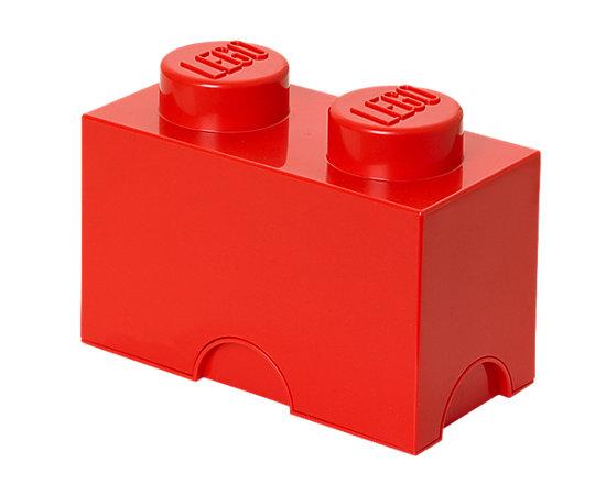 lego 2 stud red storage brick 5004279 lego shop. Black Bedroom Furniture Sets. Home Design Ideas