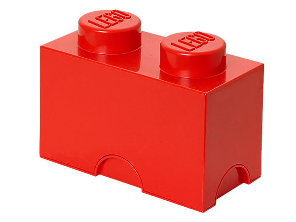 Create life-sized LEGO® furniture to store your bricks, minifigures and more with the stackable, 2-stud LEGO Storage Brick!