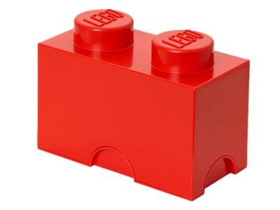 LEGO® 2-stud Red Storage Brick - 5004279 | LEGO Shop