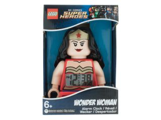LEGO® DC Comics Super Heroes Wonder Woman™ Minifigure Alarm Clock
