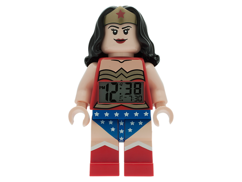 Lego® Dc Comics Super Heroes Wonder Woman Minifigure Alarm Clock