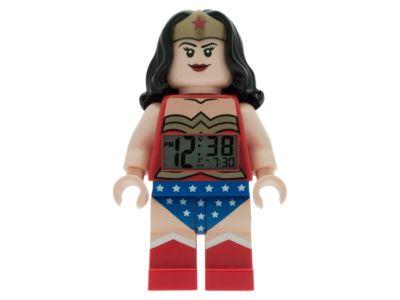 LEGO® DC Comics™ Super Heroes Wonder Woman Minifigure Alarm Clock ...