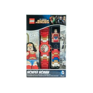 LEGO® DC Comics™ Super Heroes Wonder Woman Watch