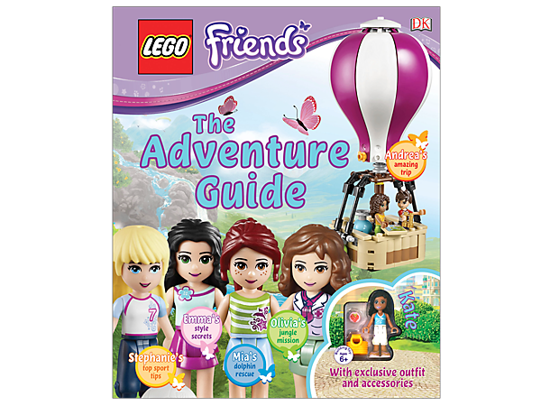 Discover everything there is to know about the LEGO® Friends girls and their fun-packed lives in this exciting book of adventure stories.