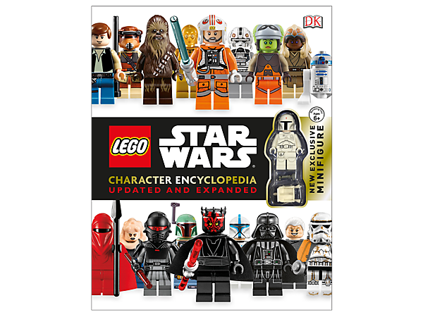 Keep up to date with your favorite LEGO® <i>Star Wars</i>™ characters with this 280-page hardcover encyclopedia with exclusive Boba Fett minifigure.