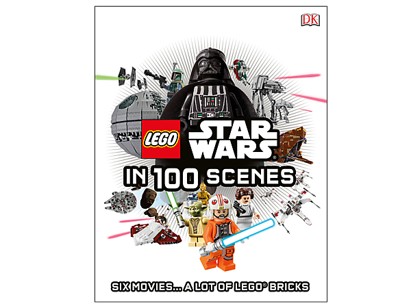 <p>Recount the epic <i>Star Wars</i>™ saga with LEGO® <i>Star Wars</i> in 100 Scenes, featuring 216 pages filled with iconic LEGO characters and play sets.</p>