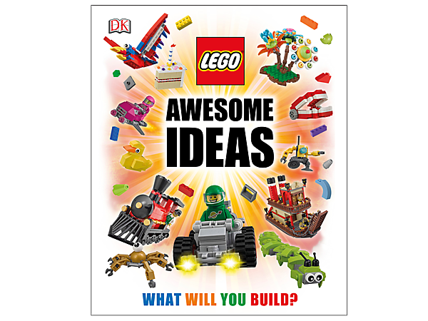 <p>Create new LEGO® worlds with the Awesome Ideas book featuring 200 full-color pages with loads of LEGO approved fan ideas, tips and techniques.</p>