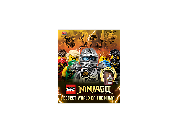 Discover the Secret World of the Ninja with this full-color book featuring specially commissioned photos plus a Sensei Wu minifigure.