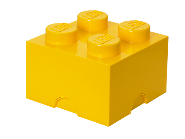 Build LEGO® décor, storage and more with a life-sized LEGO Storage Brick featuring real LEGO studs to connect your life-sized creations!