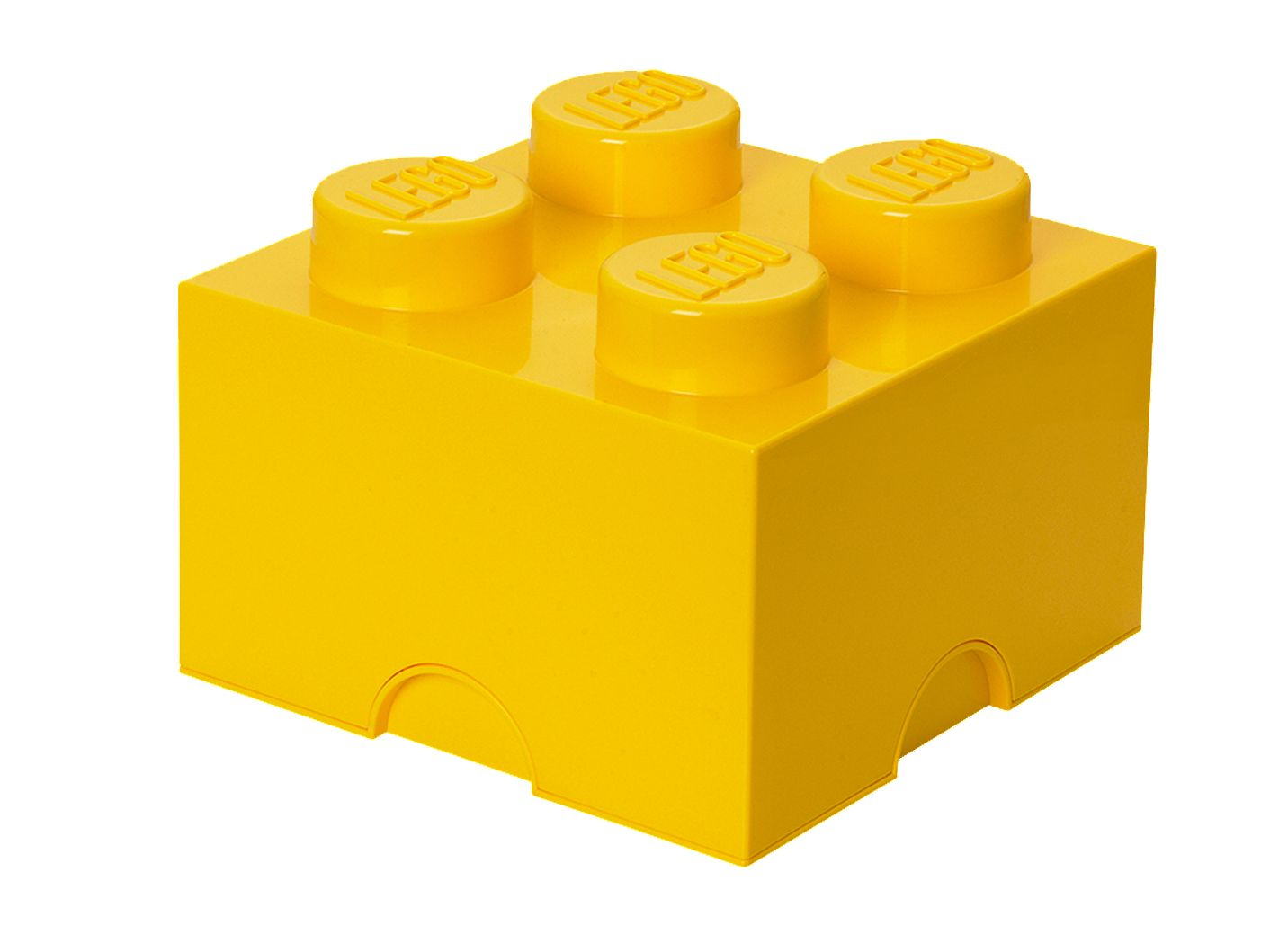 LEGO® 4-stud Yellow Storage Brick