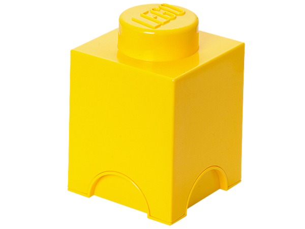 Create life-sized LEGO® furniture to store your bricks, minifigures and more with the stackable, 1-stud LEGO Storage Brick!