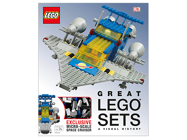 Learn the secrets of the best-ever LEGO® sets with Great LEGO Sets: A Visual History, featuring 256 full-color pages plus a buildable micro-scale model.