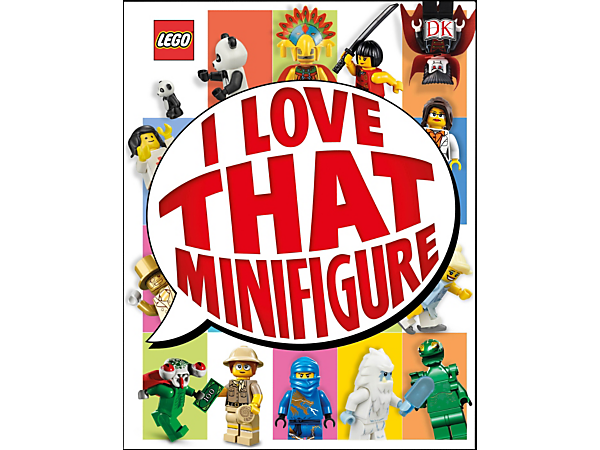 Meet the best minifigures of all time in I Love That Minifigure, featuring 208 full-color pages plus an exclusive buildable minifigure.
