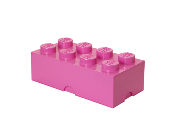Create life-sized LEGO® furniture to store your bricks, minifigures and more with the stackable, 8-stud LEGO Storage Brick.