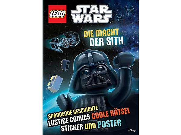 Auf den 32 Seiten des LEGO® Star Wars™ Aktivitätenhefts: Die Macht der Sith, entdeckst du die lustige Seite, denn es enthält spannende Geschichten, Quizzspiele, ein Poster und einen Bogen Sticker.