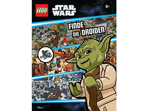 Go on the hunt for the hidden Spy Droid in this 32-page, full-color Search & Find: Spot the Spy Droid book with buildable Spy Droid model and magnifying glass element.