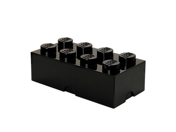 Create life-sized LEGO® furniture to store your bricks, minifigures and more with this stackable, 8-stud LEGO Storage Brick.