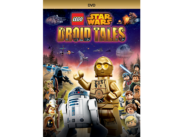 Unleash the lighter side of the Force as R2-D2 and C-3PO retell five hilarious Droid Tales adventures on one action-packed LEGO® Star Wars DVD plus exclusive collectible TOPPS trading cards.