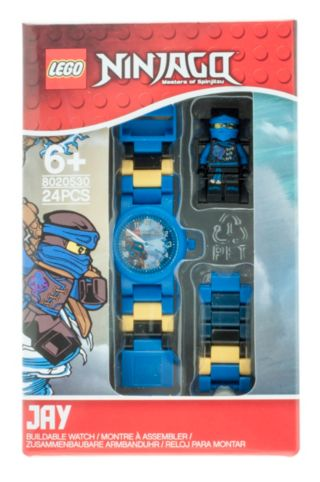 LEGO® NINJAGO™ Sky Pirates Jay Kids Buildable Watch