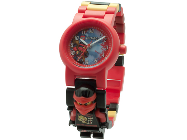 <p>Make time for ninja adventures with this analog quartz watch featuring a buildable strap with multicolored, interchangeable links and a sculpted Kai minifigure.</p>
