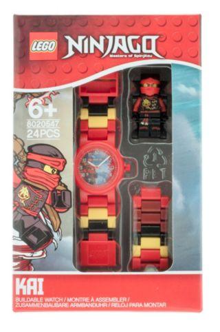 LEGO® NINJAGO™ Sky Pirates Kai Kids Buildable Watch