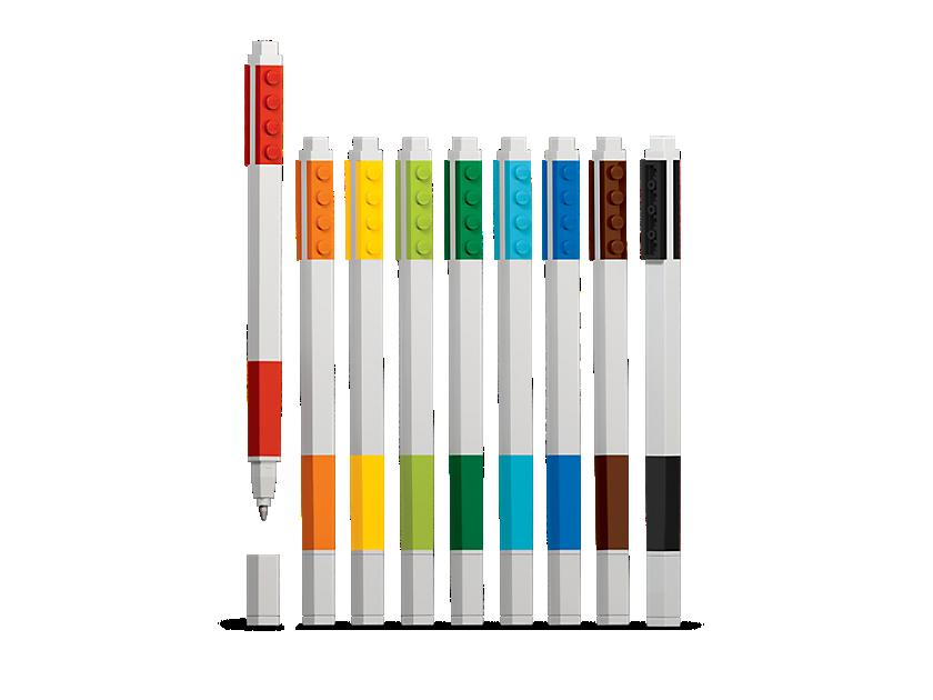 Lego 9 - pack Gel Pen Set