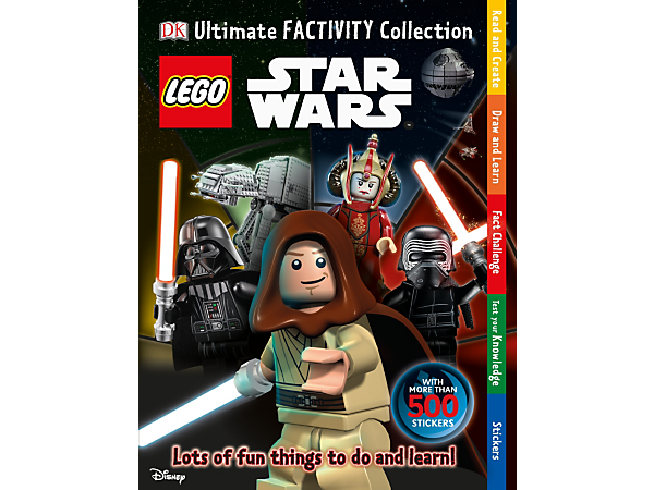 Have fun while you learn about your favorite characters from a galaxy far, far away with this 96-page Ultimate Factivity Collection: LEGO® Star Wars™ hardcover book.