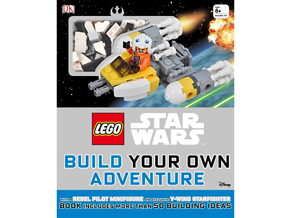 Create your own epic LEGO® Star Wars adventures with this 80-page hardcover book crammed with building ideas, plus bricks to build an exclusive Y-Wing Starfighter and Pilot.