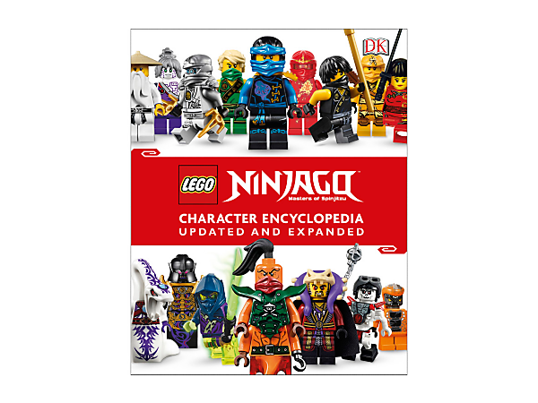 Expand your knowledge of LEGO® NINJAGO® minifigures, vehicles, weapons and locations with this updated 224-page character encyclopedia. Includes an exclusive Jay minifigure.