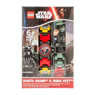 LEGO® Star Wars™ Boba Fett™ and Darth Vader™ Link Watch