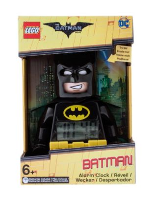 THE LEGO® BATMAN MOVIE Batman™ Minifigure Alarm Clock