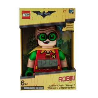 THE LEGO® BATMAN MOVIE Robin™ Minifigure Alarm Clock