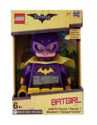THE LEGO® BATMAN MOVIE Batgirl™ Minifigure Alarm Clock