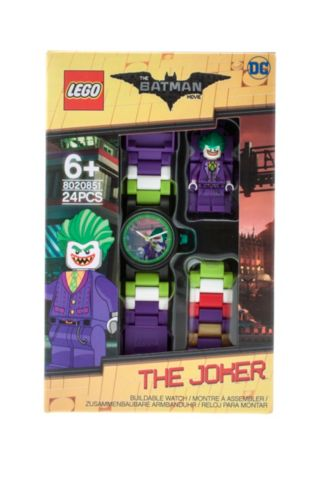 THE LEGO® BATMAN MOVIE The Joker™ Minifigure Link Watch