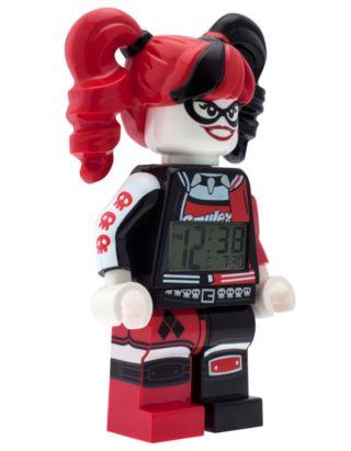 THE LEGO® BATMAN MOVIE Harley Quinn™ Minifigure Alarm Clock